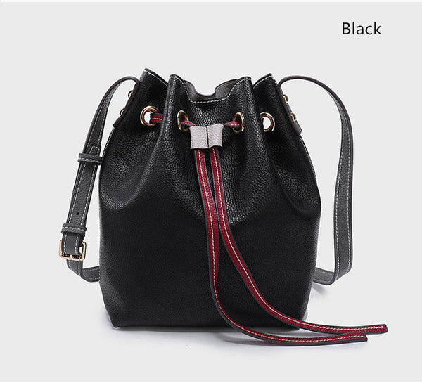 Crossbody Bags Bucket 2017 Brand Women Shoulder Strap Bag PU Leather New Messenger Bags For Ladies Women Bag Blue Handbags