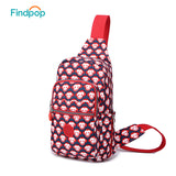 Findpop 2017 New Chest Bag Womens Bags Casual Crossbody Bags Newest Printed No 21 European Style Fashion Women Messenger Bags