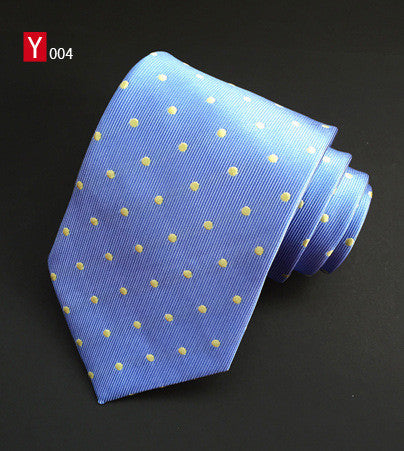 Mantieqingway Fashion Casual Mens Tie Polka Dots Brand Necktie Wedding Business Suit 8cm Bow Neck Tie Blue Ties for Men Gravatas