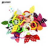 YWHUANSEN Rabbit ears gum for  Hair Women/Girls Accessories Scrunchy Elastic Hair Bands Headdress acessorios para cabelo