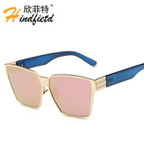 New Fashion Sunglasses Women Brand Designer Eyewear Female Shade Sunglasses Retro Sun Glasses for Woman Lunette de soleil femme
