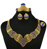 jewelry set - Fashion accessories ,clothing, jewelry, african jewelry sets high quality jewelry set wedding party jewelry set women necklace red stone,blue stone - clothing, Gorgeous things online - gorgeous things online