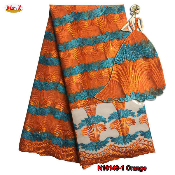 Mr.Z Tulle Fabric Lace High Quality Latest African Laces 2017 With Stones Nigerian Tulle French Net Lace Fabric For Party N10148