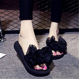 - Fashion accessories ,clothing, jewelry, European and American popular new summer fashion all-match bow a female drag flat slip leisure wear Korean beach cool slip 35-42 - clothing, Gorgeous things online - gorgeous things online
