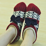 bedroom wear - Fashion accessories ,clothing, jewelry, Apple 2017 new Hand knitted men&women home slippers Crochet handmade warm Household anti-skit female flooring indoor shoes - clothing, Gorgeous things online - gorgeous things online