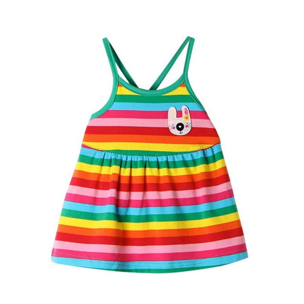 baby clothes - Fashion accessories ,clothing, jewelry, 2016 Rainbow Baby Girl Clothes Dresses 0-12 Month Kids Summer Colorful Dress Newborn Clothing - clothing, Gorgeous things online - gorgeous things online