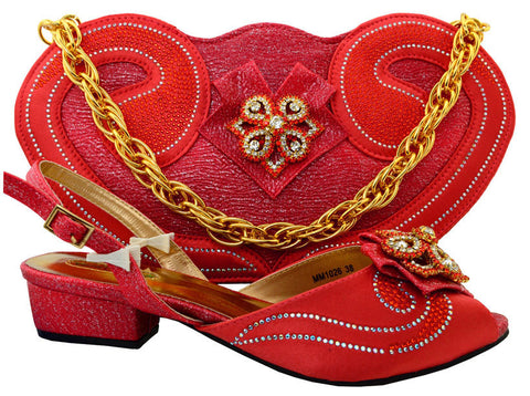 shoe bag set - Fashion accessories ,clothing, jewelry, 2017 African Shoe And Bag Set Italian Shoe With Matching Bag Set For Party High Quality Women Pumps Heel Shoes MM1026 - clothing, Gorgeous things online - gorgeous things online