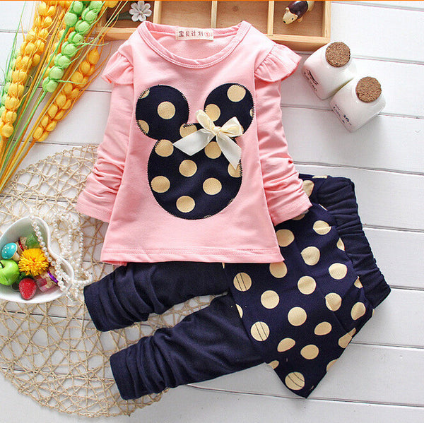 - Fashion accessories ,clothing, jewelry, 2016 Spring Hot Baby girls clothing Set suits cartoon tops tees+polka dot skirt pants Legging jacket children clothes twinsets - clothing, Gorgeous things online - gorgeous things online