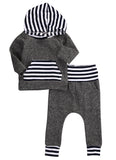 - Fashion accessories ,clothing, jewelry, 2016 Winter Autumn Toddler Newborn Baby Boy Girl Striped Long Sleeve T-shirt Top Hoodie+Legging Pants 2pcs Outfits Set - clothing, Gorgeous things online - gorgeous things online