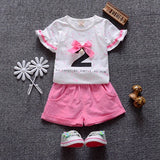 - Fashion accessories ,clothing, jewelry, 2017 Baby Girl Clothes Short Sleeve Shirts+Shorts 2pcs Girl Clothing Set Fashion Summer Toddler Girls Clothes Suit for 1-4Y - clothing, Gorgeous things online - gorgeous things online