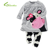 - Fashion accessories ,clothing, jewelry, Baby Girls cow pattern Top + Leggings kids animals design sets Girl Fashion Clothing Set Cute Princess Style Free drop Shipping - clothing, Gorgeous things online - gorgeous things online