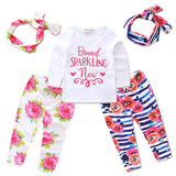 - Fashion accessories ,clothing, jewelry, autumn spring 3pcs Newborn Kids Baby Girls Tops T-shirt+Leggings Pants Headband Outfits Set - clothing, Gorgeous things online - gorgeous things online