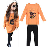 - Fashion accessories ,clothing, jewelry, 2016 2pcs Toddler Infant Girls Outfits Top T-shirt +Legging Kids Clothes Set orange color Playsuit - clothing, Gorgeous things online - gorgeous things online