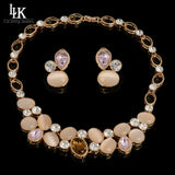 2016 Latest Haute Couture Luxury Jewelry Sets Big Maxi Necklace Earrings For Women High Quality Dubai Gold Plated Jewelry Set