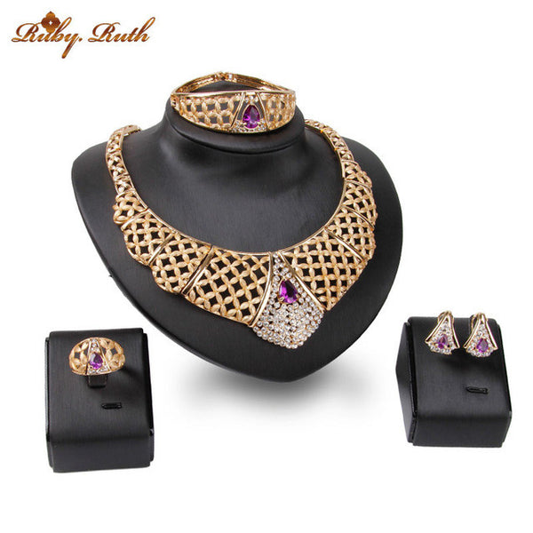 - Fashion accessories ,clothing, jewelry, African dubai amethyst atmosphere ms necklace bracelet earrings ring jewelry jewelry set of high quality wholesale jewelry 2017 - clothing, Gorgeous things online - gorgeous things online