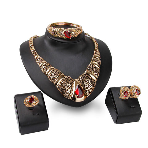 - Fashion accessories ,clothing, jewelry, 2017 African dubai three colors red, black purple crystal optional carve patterns or designs jewelry set austria crystal gift - clothing, Gorgeous things online - gorgeous things online