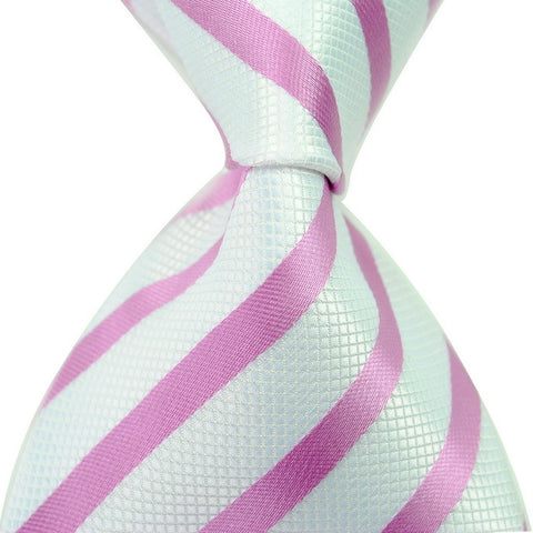 - Fashion accessories ,clothing, jewelry, 2015 Brand New Flax Linen Texture For Grain White Pink Striped Men Novel Fashion Business Accessories Arrow Gravata Tie Necktie - clothing, Gorgeous things online - gorgeous things online