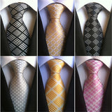- Fashion accessories ,clothing, jewelry, Factory Novelty 8CM Classic 100% Silk Mens Ties Plaids Check  Houndstooth Accessories Jacquard Woven Men's necktie Neck Tie Lot - clothing, Gorgeous things online - gorgeous things online