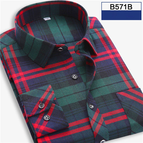 - Fashion accessories ,clothing, jewelry, 2017 Spring Autumn Plaid Men Shirt Male Long Sleeve Dress Shirts Plus Size Youth Office Business Casual Shirt Man YN10026 - clothing, Gorgeous things online - gorgeous things online