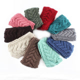 Women Turban Crochet Knitted Headwrap Headband Winter Ear Warmer Hair Band