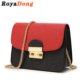 RoyaDong 2016 Women Messenger Bags Women's Handbags Small Chains Designer Cute Lady's Crossbody Bags For Women Candy Color