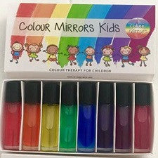 The Colour Mirrors 'Kids' mini-chakra sets