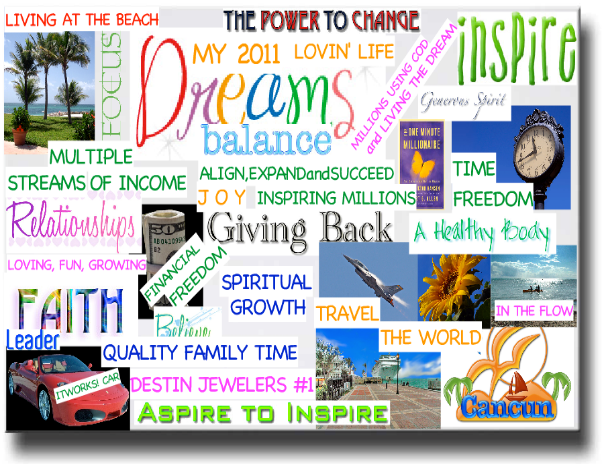 March 26th - Vision Dream Board Class