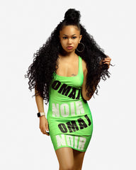 """The Neons"" OmajxNoiR Signature dress"