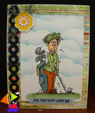 Golf Guy Digi Stamp