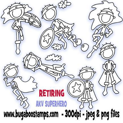 ,Retiring AKV Super Hero,Bugaboo Stamps,