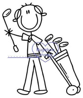Digi Stamps,AKV golf bag,Bugaboo Stamps,