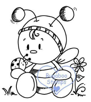 Digi stamps,BUGBEE03 bugaboo bee 03,Bugaboo Stamps,