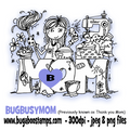 Bugaboo Stamps Mother's Day Digi Stamp, clip art, illistration