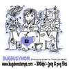Busy Mom Digi Stamp