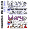 Cat Lady Mary Digi Stamp