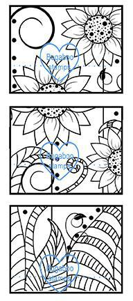 Digi stamps,BUGFFLBLOCKS funky flower blocks,Bugaboo Stamps,