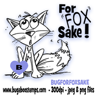 Digi stamps,BUGFORFOXSAKE For Fox Sake,Bugaboo Stamps,