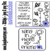Digi Stamp Images for Friends Images, Digi stamps, clip art, coloring pages and illustrations from Bugaboo Stamps