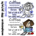 Funny and sassy JJ coffee magical substance Digi Stamp  Images, Digi stamps, clip art, coloring pages and illustrations from Bugaboo Stamps