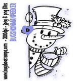 Digi stamp snowman peeker from Bugaboo Stamps