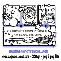 Harry Potter Collage