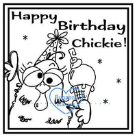 Digi Singles,make it snappy birthday chickie,Bugaboo Stamps,
