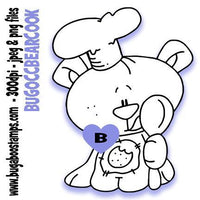 Occupation bear cook Bugaboo Digi Stamps clipart and Illustrations