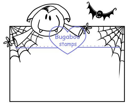 DIGI STAMPS,Sign it AKV Dracula,Bugaboo Stamps,