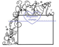 Digi Singles,Sign it - Christmas Mice,Bugaboo Stamps,