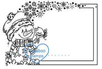 Digi Singles,sign it snow friends,Bugaboo Stamps,