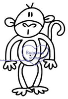 Digi stamps ,monkey,Bugaboo Stamps,