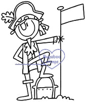 Digi stamps-AKV stick people pirate treasure -www.bugaboostamps.com