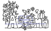 $1 Digi Stamps,Sign Autumn,Bugaboo Stamps,