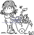 Digi stamps,Bugaboo Brats Autmn leaves Girl,Bugaboo Stamps,